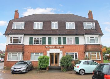 Thumbnail 1 bed flat for sale in Warwick Court, Hook Road, Surbiton