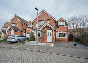 Thumbnail 3 bed detached house for sale in Portchester Close, Park Farm, Peterborough