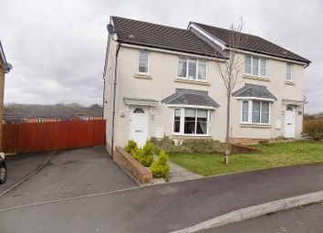 Thumbnail 3 bed semi-detached house for sale in Skylark Road, North Cornelly, Bridgend.