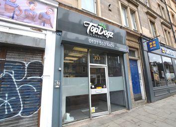 Thumbnail Retail premises to let in Leith Walk, Edinburgh