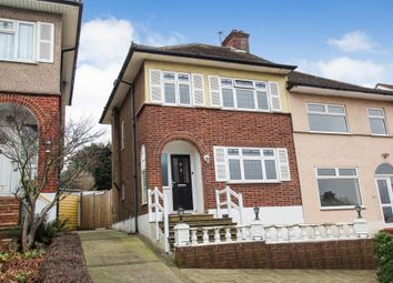 Thumbnail 3 bedroom semi-detached house to rent in Kingshill Avenue, Romford, Essex