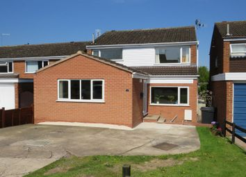 Thumbnail 4 bed detached house for sale in Lovelace Way, Fleckney, Leicester