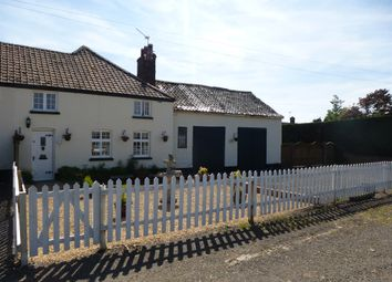Thumbnail 2 bedroom cottage for sale in Newmarket Road, Risby, Bury St. Edmunds