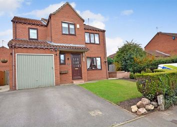 Thumbnail 4 bed detached house for sale in Queen Margarets Drive, Brotherton, Knottingley