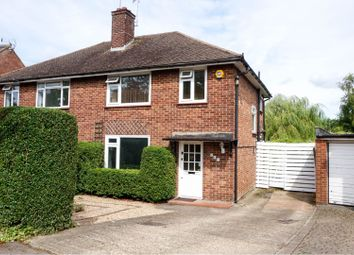Thumbnail 3 bed semi-detached house for sale in Hillside Avenue, Borehamwood