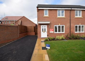 Thumbnail 3 bed semi-detached house to rent in Dudley Drive, Littleover, Derby