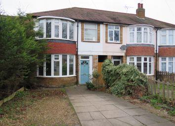 Thumbnail 3 bedroom end terrace house for sale in Saffron Lane, Leicester