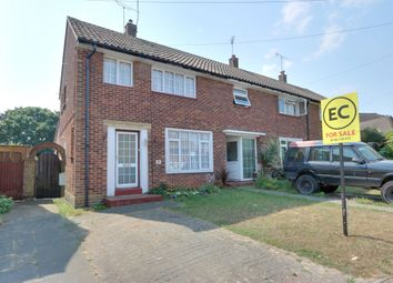 Thumbnail 4 bed end terrace house for sale in Danescroft Drive, Leigh-On-Sea, Essex