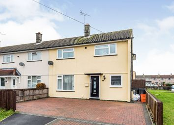 Thumbnail 4 bedroom end terrace house for sale in Kingswood Avenue, Swindon
