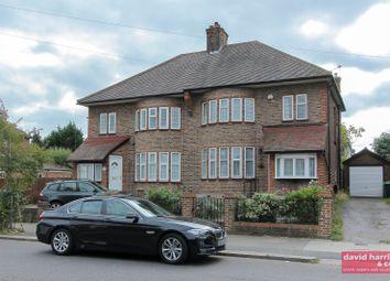 Thumbnail 3 bedroom semi-detached house to rent in Lullington Garth, Woodside Park, London