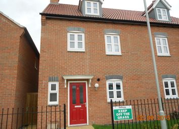 Thumbnail 4 bed semi-detached house to rent in Maresfield Road, Barleythorpe, Oakham