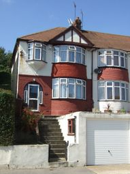 Thumbnail 3 bed semi-detached house to rent in Jersey Road, Strood, Rochester