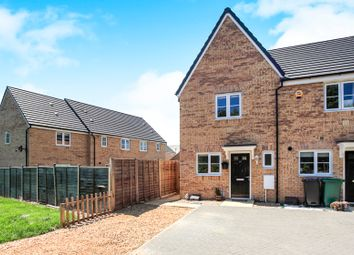Thumbnail 2 bedroom end terrace house for sale in Moresby Way, Peterborough