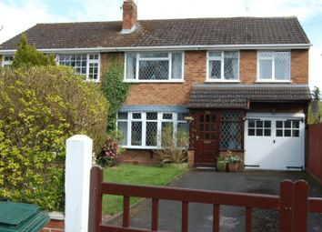 Thumbnail 4 bed semi-detached house to rent in Church Road, Albrighton, Wolverhampton