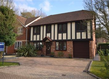 Thumbnail 5 bedroom detached house for sale in Buttermere Drive, Camberley, Surrey