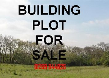 Thumbnail Land for sale in Building Plot, Adjacent To Rosevale, Heol Hirwaun Olau, Tumble, Llanelli
