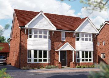 "Thumbnail 5 bedroom detached house for sale in ""The Ascot"" at Limousin Avenue, Whitehouse, Milton Keynes"
