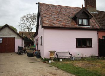 Thumbnail 2 bed semi-detached house for sale in Old Norwich Road, Yaxley, Eye