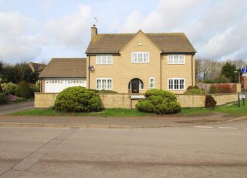 Thumbnail 5 bedroom detached house to rent in Wood Road, Kings Cliffe, Peterborough