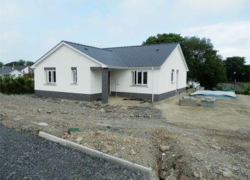 Thumbnail 3 bed detached bungalow for sale in New Development Heol Y Cwm, Cross Inn, Llandysul, Ceredigion