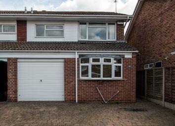 Thumbnail 3 bed semi-detached house to rent in Charnwood Avenue, Sutton Bonington, Loughborough