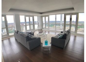 Thumbnail 3 bedroom flat to rent in Berkeley Tower, 48 Westferry Circus, London
