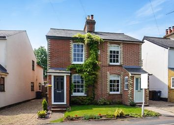 Thumbnail 2 bed semi-detached house for sale in Mount Pleasant, Hertford Heath, Hertford