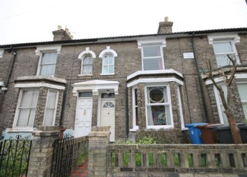 Thumbnail 3 bed terraced house to rent in Bedford Street, Ipswich, Suffolk