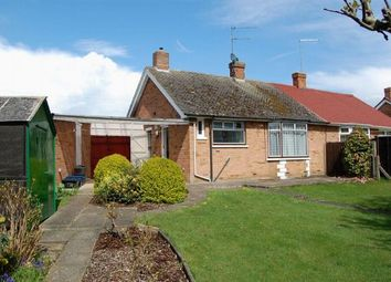 Thumbnail 2 bed semi-detached bungalow to rent in Laburnum Crescent, Spinney Hill, Northampton