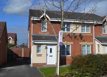 Thumbnail 4 bed semi-detached house for sale in Telford Drive, St. Helens