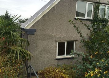 Thumbnail 2 bed semi-detached house to rent in Gwynfor Road, Cockett, Swansea