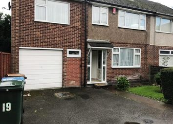 Thumbnail 4 bedroom semi-detached house to rent in Belmont Road, Coventry