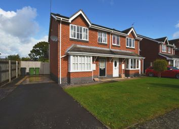 Thumbnail 3 bed semi-detached house for sale in Chancel Drive, Market Drayton