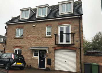 Thumbnail 4 bed town house for sale in Lady Charlotte Road, Hampton Hargate, Peterborough