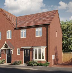 Thumbnail 2 bed semi-detached house for sale in Kestrel Drive, Holt