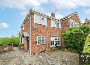 Thumbnail 3 bed semi-detached house for sale in Pettits Close, Romford
