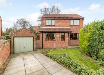 Thumbnail 4 bed detached house for sale in Feversham Drive, Kirkbymoorside, York