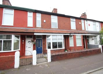 Thumbnail 3 bed terraced house for sale in Derwent Road, Stretford, Manchester
