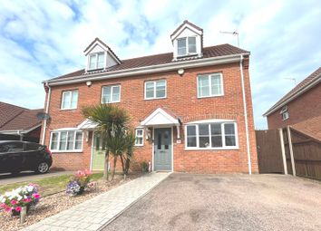 Thumbnail 4 bed semi-detached house for sale in Aspen Coppice, Lowestoft