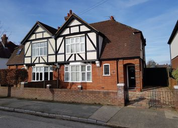 Thumbnail 3 bed semi-detached house for sale in Cobbold Road, Felixstowe