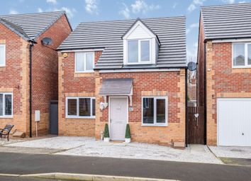 Thumbnail 4 bedroom detached house for sale in Cemetery Road, Langold, Worksop