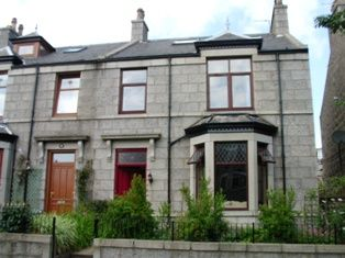 Thumbnail 3 bed semi-detached house to rent in Abergeldie Terrace, Aberdeen