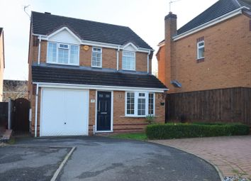 Thumbnail 3 bed detached house for sale in Taylor Close, Moira, Swadlincote