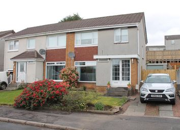 Thumbnail 3 bed semi-detached house for sale in Glencroft Avenue, Uddingston, Glasgow