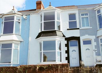 Thumbnail 4 bedroom terraced house for sale in Eversley Road, Sketty, Swansea