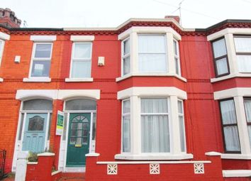 Thumbnail 3 bedroom terraced house for sale in Nicander Road, Mossley Hill, Liverpool L18.