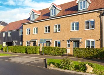 Thumbnail 4 bed terraced house for sale in Summers Hill Drive, Papworth Everard, Cambridge