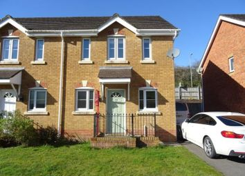 Thumbnail 3 bed semi-detached house for sale in Cwrt Pant Yr Awel, Lewistown, Bridgend