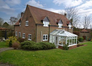 Thumbnail 4 bed detached house for sale in School Lane, Boxford, Newbury