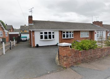 Thumbnail 2 bed semi-detached bungalow for sale in Kent Crescent, Wigston